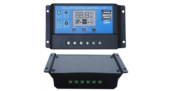 Solar Charge Controller 20A 12/24VDC