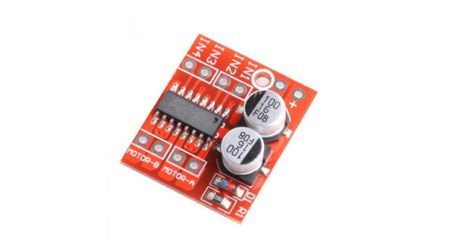 L298N Mini H-bridge dual motor driver