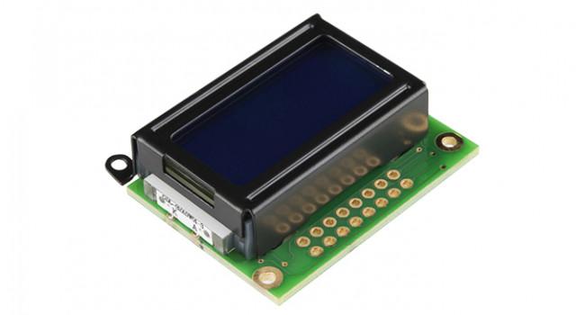 LCD 8X2 Display White on Blue - 3.3V