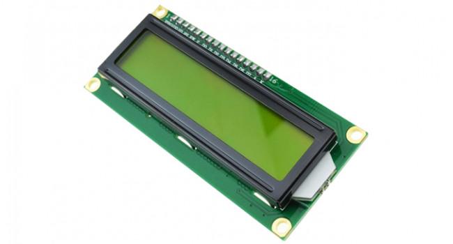 LCD 16x2 Black on Green - 3.3V