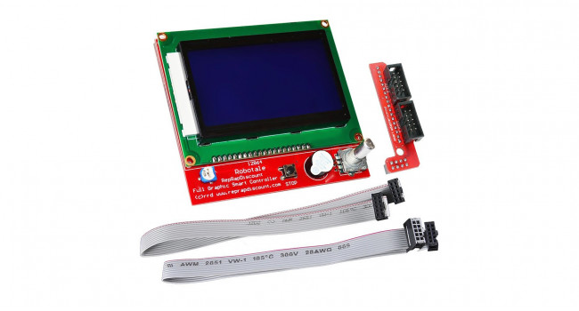 Ramps Graphical 3D Printer LCD Display - 128x64