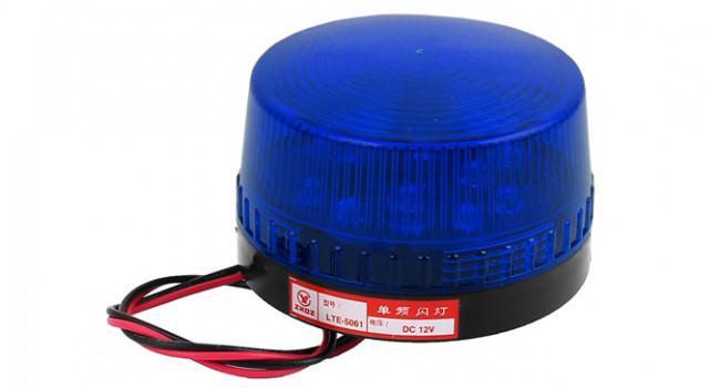 LED Strobe Light 73mm - Blue