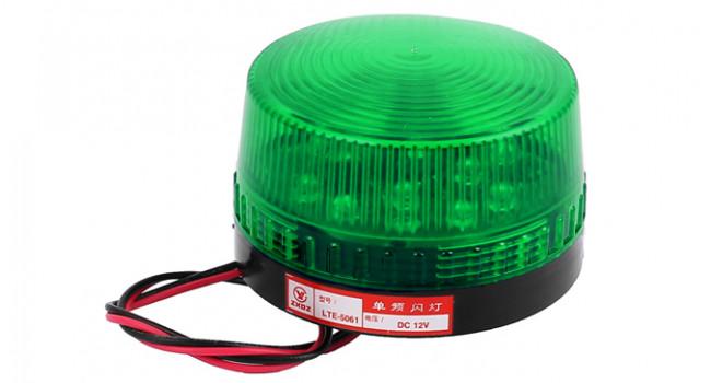 LED Strobe Light 73mm - Green