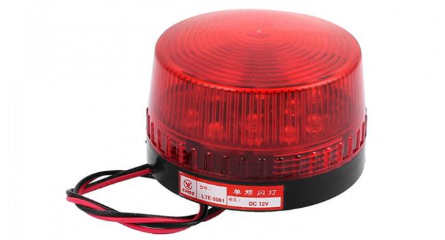 LED Strobe Light 73mm - Red