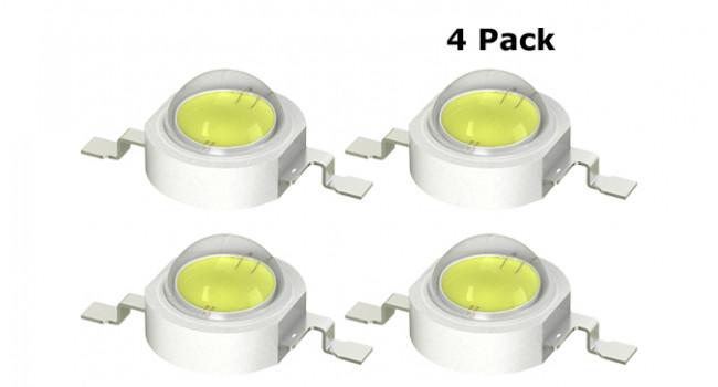 3W LED Cool White (4 Pack)