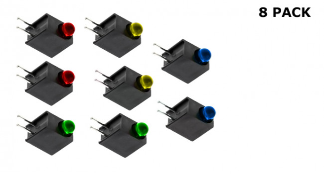 LED Box Mount RGBY (8 Pack)
