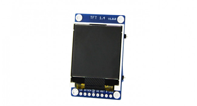 TFT 1.4 Inch Display for D1 8266 Mini