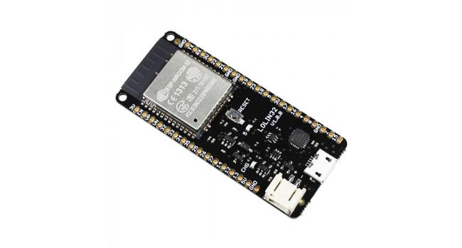 WeMos ESP32 + LiPo Input