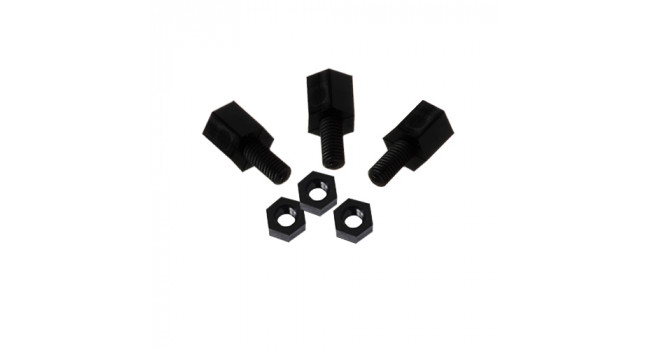 Hex 2.5mm 6X6mm Kit - (10 Pack)