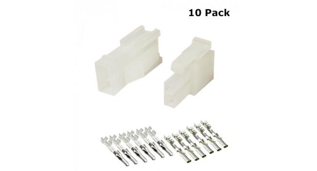 MOLEX Wire - Wire M-F 2P (10 Pack)