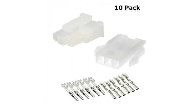 MOLEX Wire - Wire M-F 3P (10 Pack)