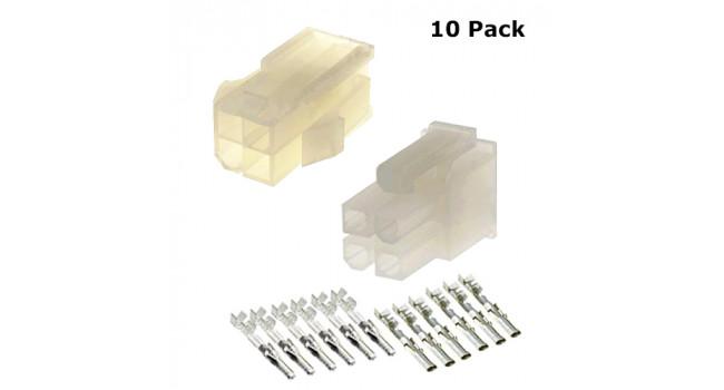 MOLEX Wire - Wire M-F 4P (10 Pack)