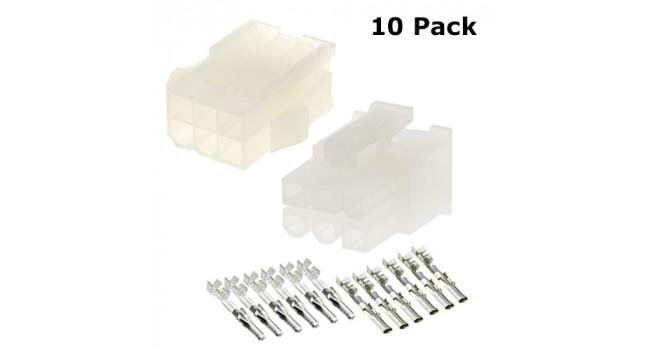 MOLEX Wire - Wire M-F 6P (10 Pack)