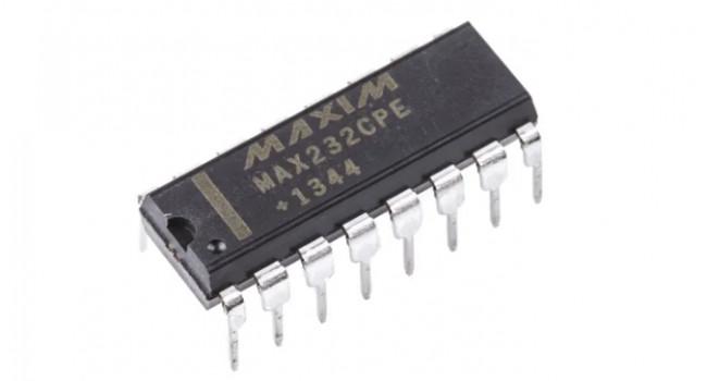 MAX232CPE Dual RS232 Line Driver - DIP16