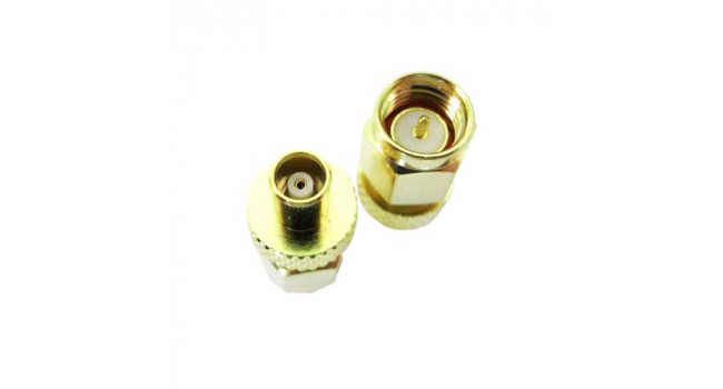 RF Connector MCX-F to SMA-M