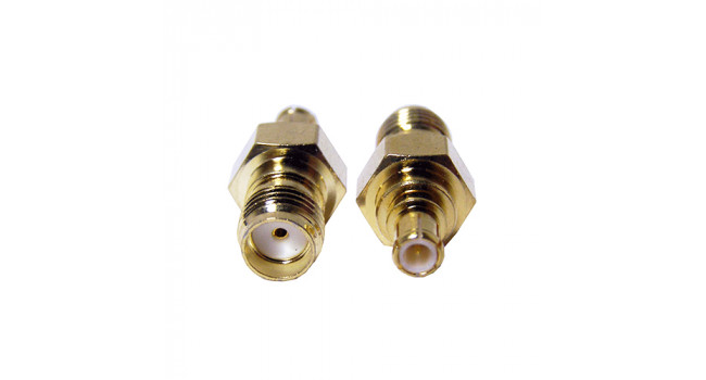 RF Connector MCX-M to SMA-F