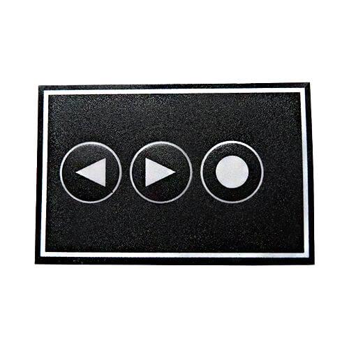 Membrane Keypad - 2 x Arrow Keys + Function Key
