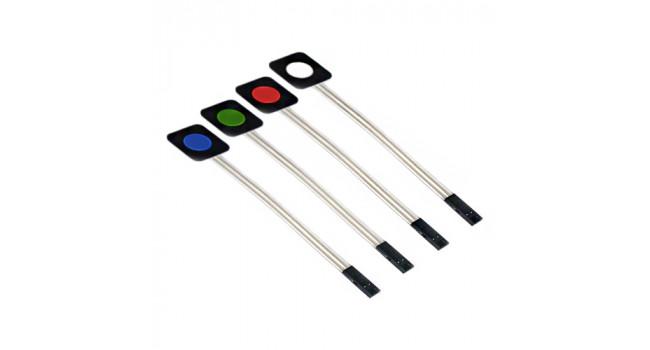 Red, Green, Blue, & White Membrane Switch Kit