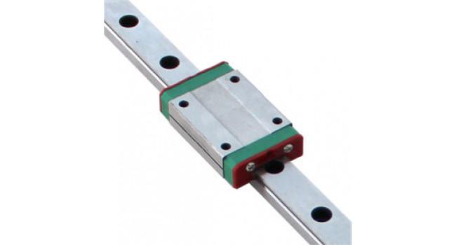 Linear Slide MGN9 L=700mm + 2 x MGN9C Blocks