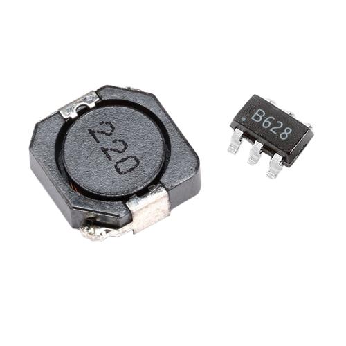MT3608 Reg + 22μH Coil SMD Kit