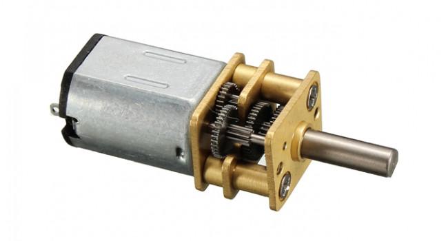 N20 Micro Metal Motor 60RPM 6V