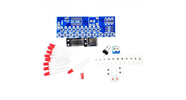 NE555 + CD4017 Running Light Kit