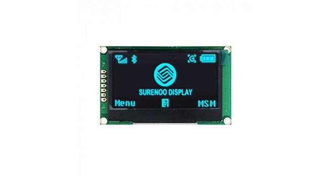 "OLED 2.42"" - Blue - SPI Interface"