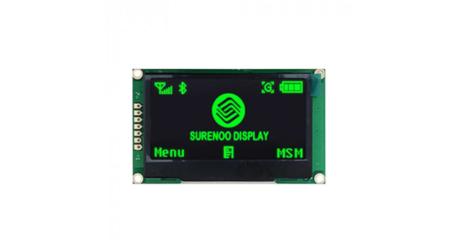 "OLED 2.42"" - Green - SPI Interface"