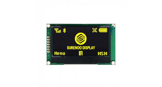 """OLED 2.42"""" - Yellow - SPI Interface"""
