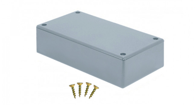 ABS Enclosure 111 x 61 x 25 - Grey