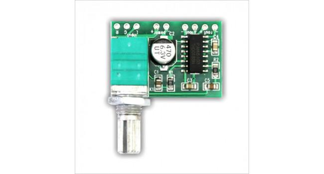 Amplifier 3 Watt stereo + Volume Control