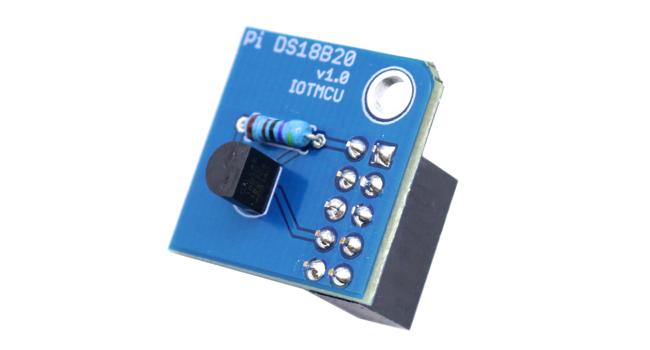 Pi 18B20 Mini Temperature Module