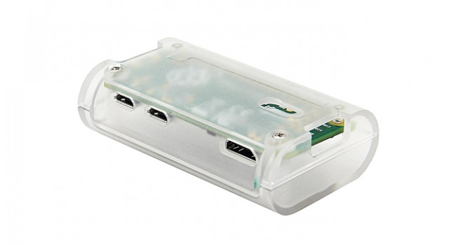 Pi Zero ABS Enclosure - Clear