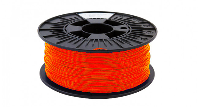 PLA++ 1.75mm Filament Florescent Orange - 1Kg