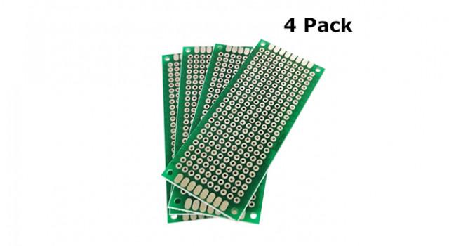 Protoboard 3 x 7cm (4 Pack)