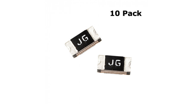 PTC Fuse 0.5A Max 6V 1206SMD (10 Pack)