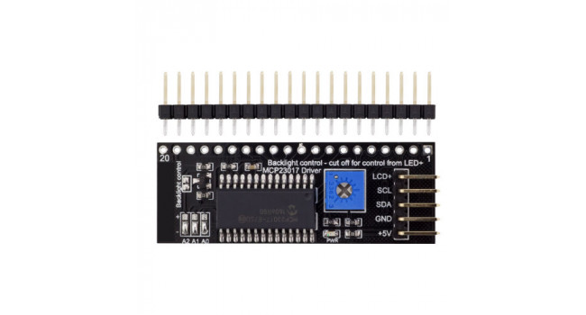 I2C Interface for Graphic 128x64 LCD