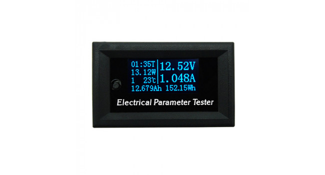DC Energy Meter OLED - 3-30V/3A Max