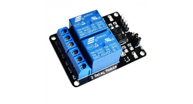 Relay 2 Channel - Opto Isolated