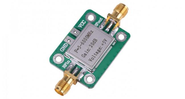 RF Amplifier 6GHz 20DB 5V