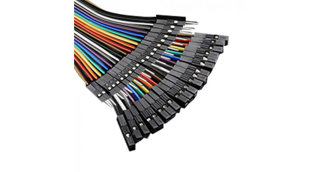 Ribbon Cable Combo M-M, M-F, F-F 20cm