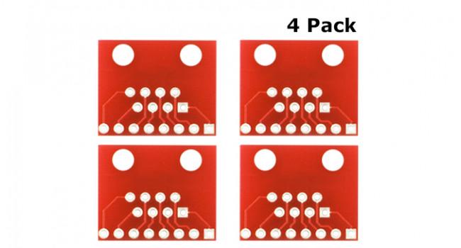 RJ45 PCB Breakout (4 Pack)