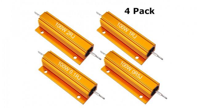 Resistor Kit 100W (4 Pack)