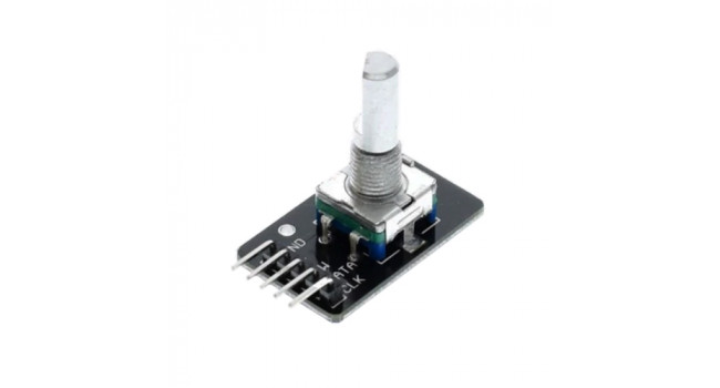 Rotary Encoder - Breadboard Ready