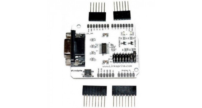 RS232 shield for Arduino V2 - End of Line