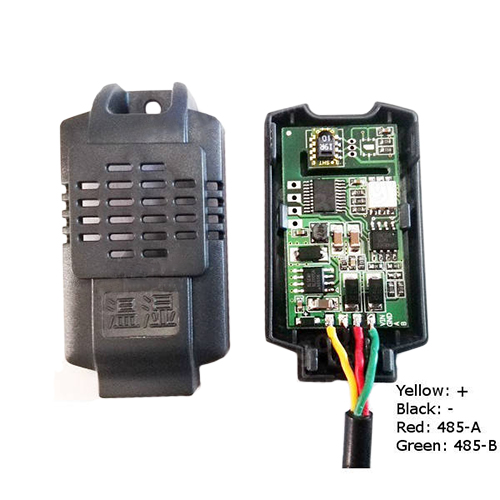 Modbus RS485 Temperature and Humidity Sensor
