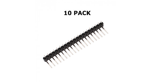 SIL Header 20P - 90 Deg Bend (10 Pack)