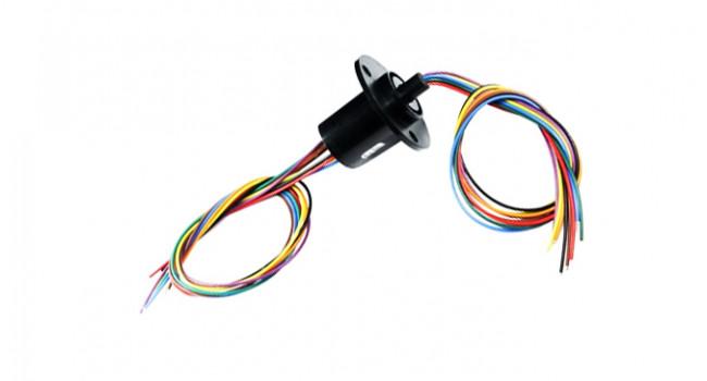 Slip Ring Flange 8 Way - 240V 2A