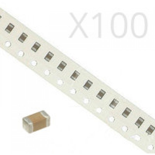 22pF SMD Capacitor Size 1206 (100 Pack)
