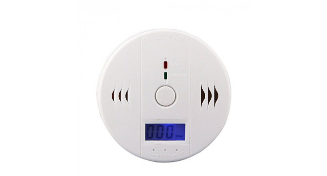 Smoke Alarm with Digital Display